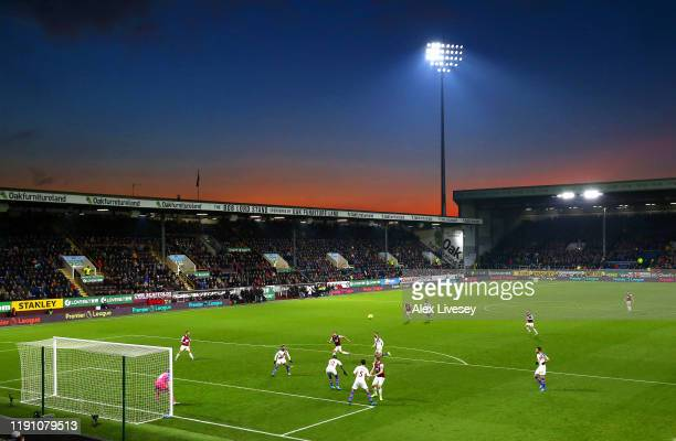 General view of Turf Moor is seen during the Premier League match between Burnley FC and Crystal Palace at Turf Moor on November 30, 2019 in Burnley,...