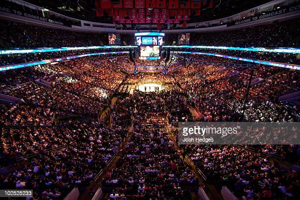 General view of UFC 101 at Wachovia Center on August 8 2009 in Philadelphia Pennsylvania