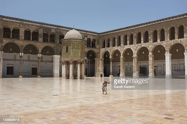 General view of Ummayad mosque on May 25 2012 in Damascus Syria The Umayyad Mosque also known as the Great Mosque of Damascus or formerly the...