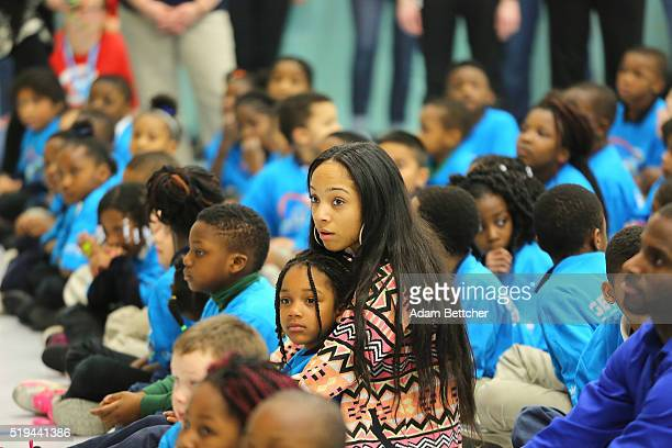 General view of UNICEF Kid Power Twin Cities Celebration at Odyssey Charter School on April 6, 2016 in Brooklyn Center, Minnesota.