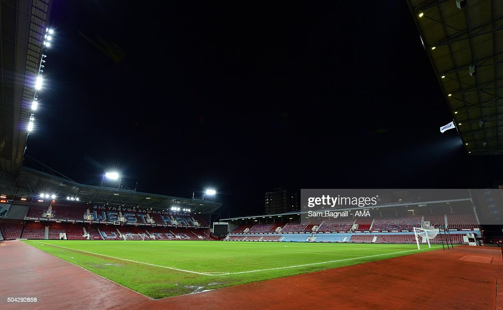 A general view of Upton Park / Boleyn Ground before The Emirates FA Cup match between West Ham United and Wolverhampton Wanderers at Boleyn Ground on January 9, 2016 in London, England.
