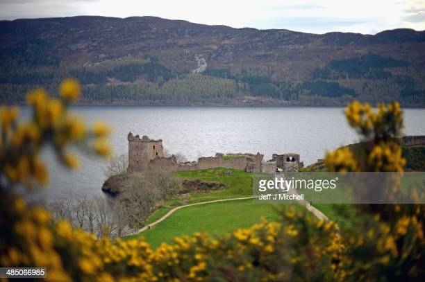 A general view of Urquhart Castle Drumnadrochit on April 16 2014 in Scotland A referendum on whether Scotland should be an independent country will...
