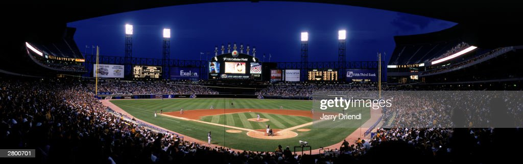 Indians v White Sox : News Photo