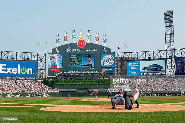 General view of US Cellular Field home of the Chicago White Sox during the game on June 25 2005 in Chicago Illinois between the Chicago White Sox and...
