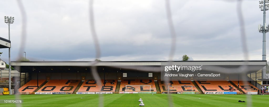 Port Vale v Lincoln City - Carabao Cup First Round