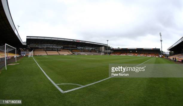 A general view of Vale Park prior to the Sky Bet League Two match between Port Vale and Northampton Town at Vale Park on August 10 2019 in Burslem...