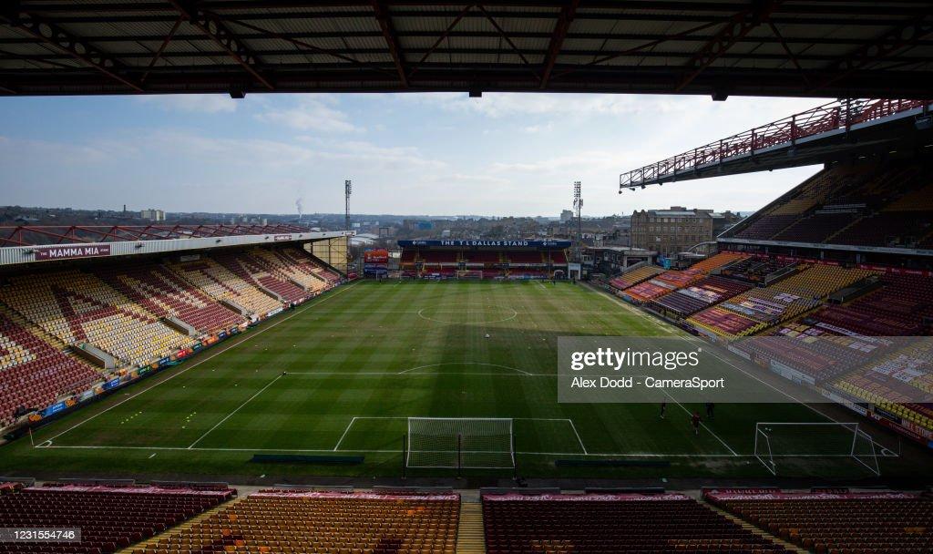 Bradford City v Bolton Wanderers - Sky Bet League Two : News Photo