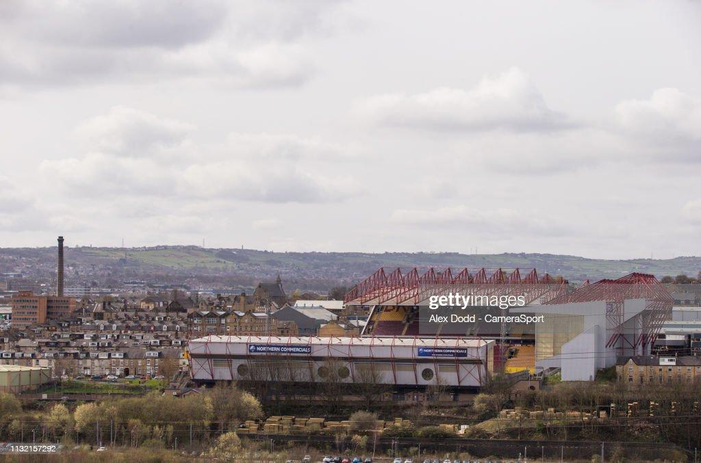 GBR: Bradford City v Blackpool - Sky Bet League One