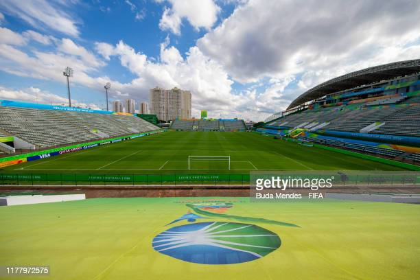 General view of Valmir Campelo Bezerrao Stadium ahead of the FIFA U-17 Men's World Cup Brazil 2019 on October 24, 2019 in Brasilia, Brazil.