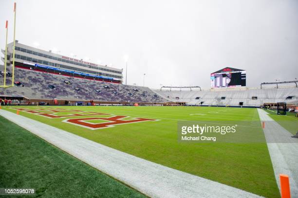 General view of VaughtHemingway Stadium prior to the matchup between the Mississippi Rebels and the Auburn Tigers on October 20 2018 in Oxford...