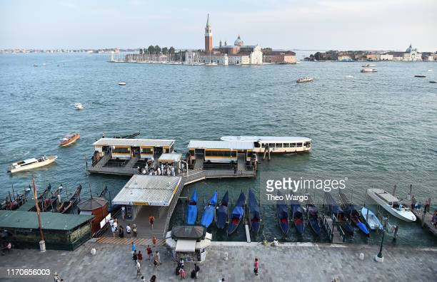 A general view of Venice ahead of the 76th Venice Film Festival on August 27 2019 in Venice Italy