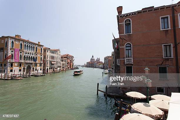 General view of Venice Italy in the summer