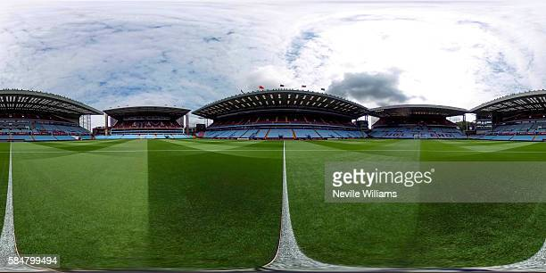 General View of Villa park before the Pre-Season Friendly match between Aston Villa and Middlesbrough at Villa Park on July 30, 2016 in Birmingham,...