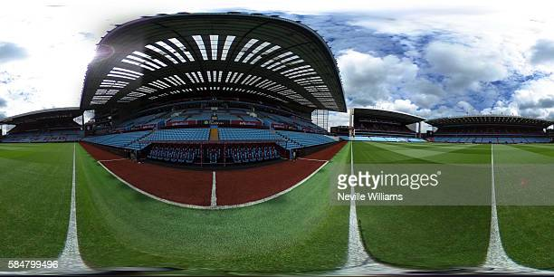 BIRMINGHAM ENGLAND JULY 30 General View of Villa park before the PreSeason Friendly match between Aston Villa and Middlesbrough at Villa Park on July...
