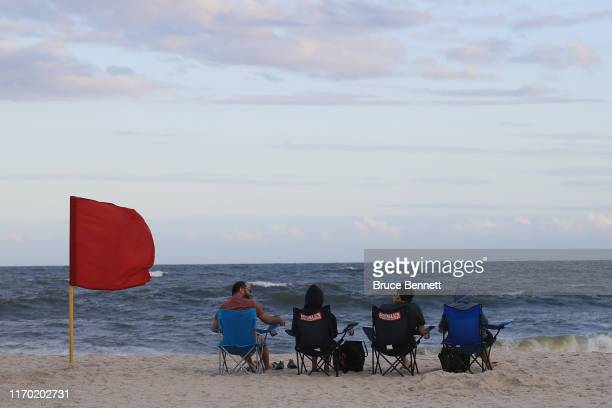 A general view of visitors to Jones Beach on August 25 2019 in Wantagh New York