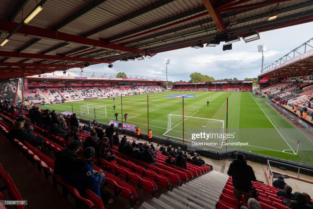 AFC Bournemouth v Brentford - Sky Bet Championship Play-off Semi Final 1st Leg : News Photo