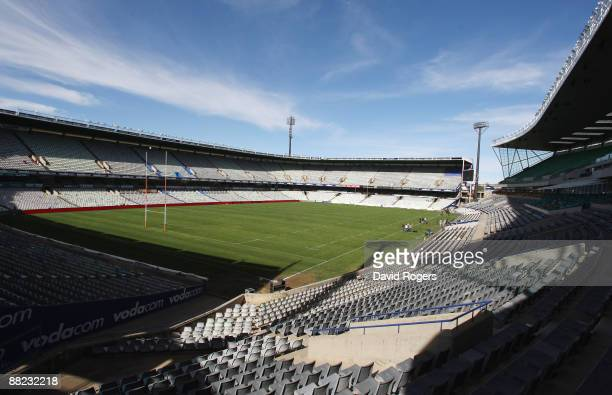 A general view of Vodacom Park Stadium on June 5 2009 in Bloemfontein South Africa