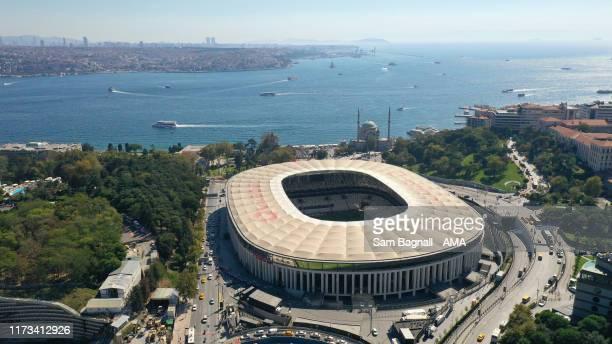 General view of Vodafone Park the home stadium of Besiktas during the UEFA Europa League group K match between Besiktas and Wolverhampton Wanderers...