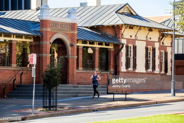 General view of Wagga Wagga Court House on May 05, 2019 in Wagga Wagga, Australia. Wagga Wagga is a major regional city in the Riverina region of New...