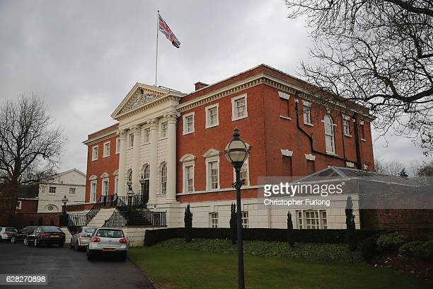 General view of Warrington Town Hall where the inquest into the deaths of the members of pop band Viola Beach took place on December 7, 2016 in...