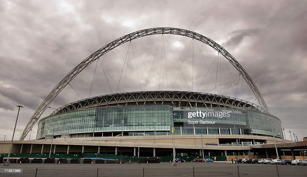 Construction On Wembley Stadium Faces Further Delays : News Photo