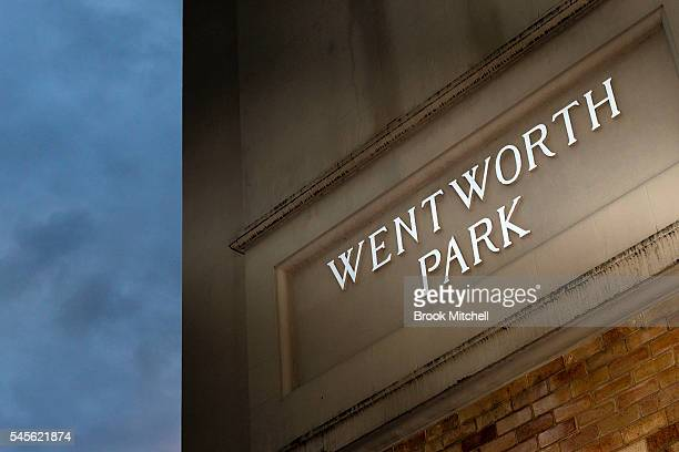 A general view of Wentworth Park on July 9 2016 in Sydney Australia Greyhound Racing in NSW has now been suspended for the week after NSW Premier...