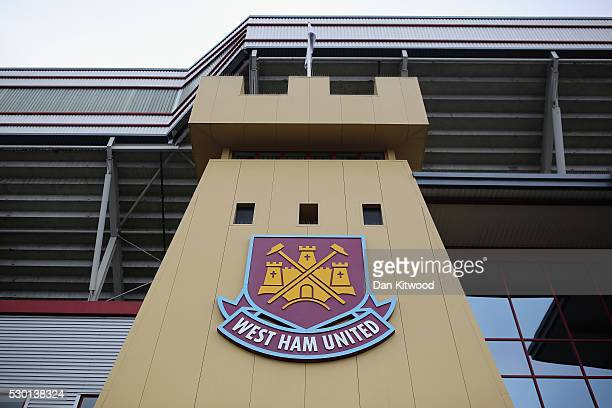 A general view of West Ham United FC's Boleyn Ground on May 10 2016 in London England Tonights Premier League match against Manchester United is West...