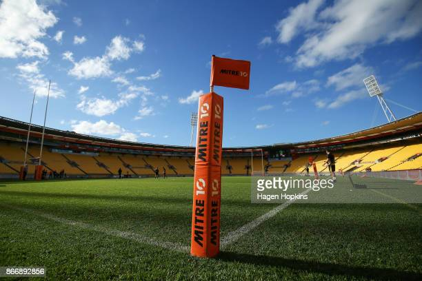 General view of Westpac Stadium prior to the Mitre 10 Cup Championship Final match between Wellington and Bay of Plenty at Westpac Stadium on October...