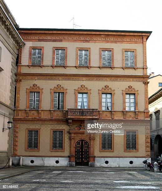 A general view of where author Alessandro Manzoni lived on July 31 2008 in Milan Italy