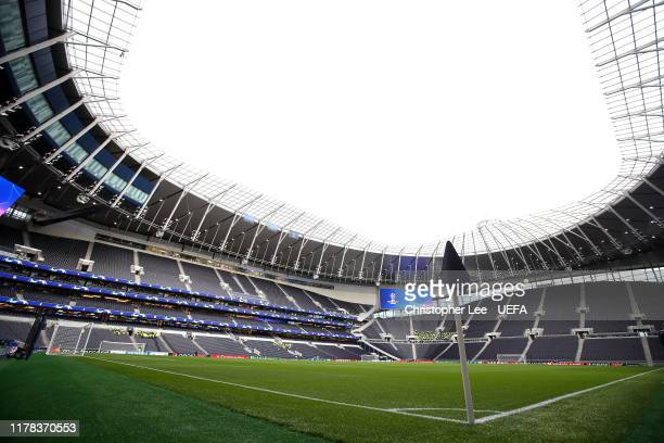 General view of White Hart Lane during the UEFA Champions League group B match between Tottenham Hotspur and Bayern Muenchen at Tottenham Hotspur...