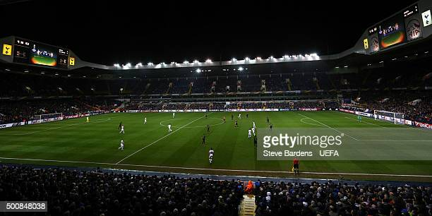 General view of White Hart Lane during the UEFA Europa League group J match between Tottenham Hotspur FC and AS Monaco FC at White Hart Lane on...