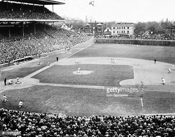 CHICAGO IL OCTOBER 5 1938 General view of World Series action at Wrigley Field in Chicago during the second inning of game one of the Series in...