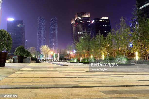 A general view of XXX on October 19 2018 in Chengdu China The southwestern Chinese city the capital of Sichuan province plans to launch an artificial...