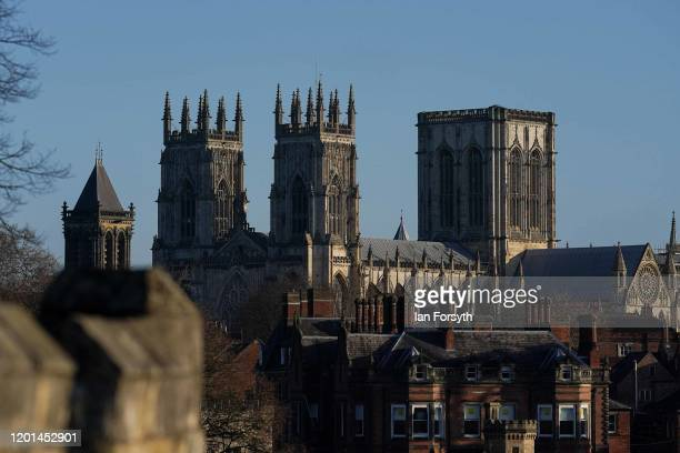General view of York Minster on January 23, 2020 in York, England. Prime Minister Boris Johnson is considering a plan to relocate the House of Lords...