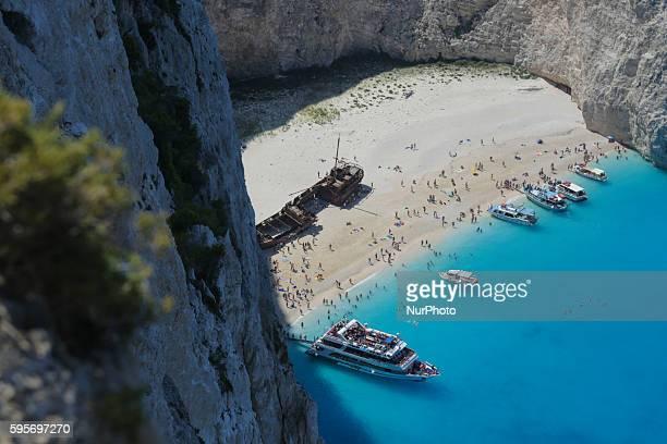 A general view of Zakynthos island Zante on August 5 2016