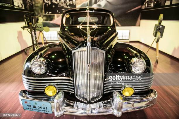 A general view of Zis110 at Harbin century automobile history museum on September 1 2018 in Harbin ChinaThe car was given to China as a gift by...