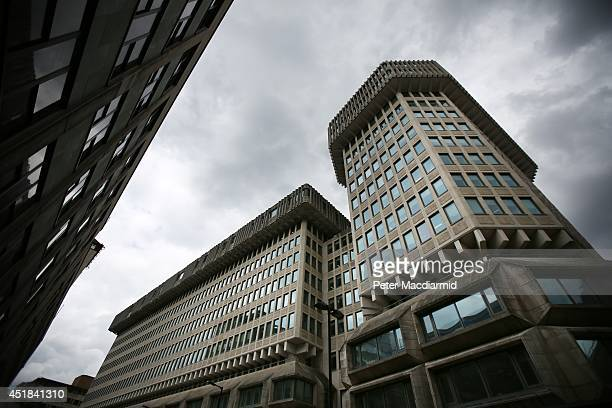 A general view ofThe Ministry of Justice building formerly the Home Office on July 8 2014 in London England Later today senior civil servant Mark...