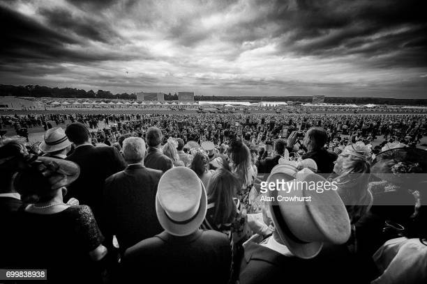 General view on day 3 'Ladies Day' of Royal Ascot at Ascot Racecourse on June 22, 2017 in Ascot, England.