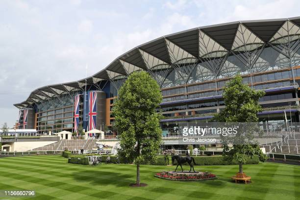 A general view on day one of Royal Ascot at Ascot Racecourse on June 18 2019 in Ascot England
