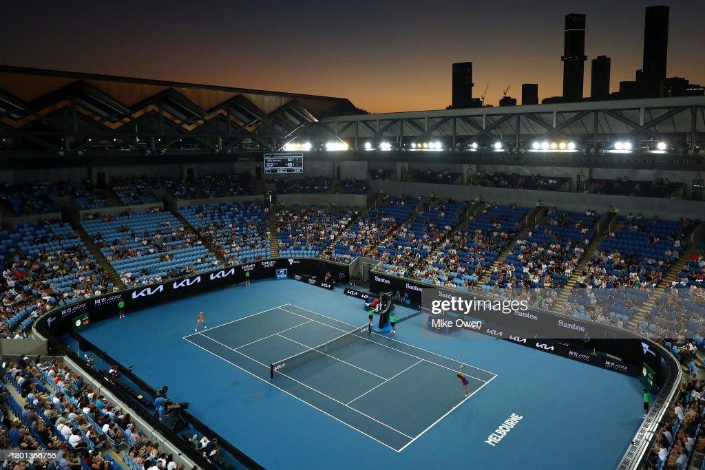 2021 Australian Open: Day 3 : ニュース写真