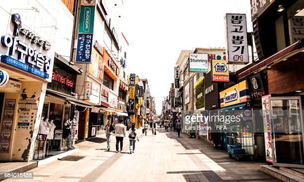 General view on May 17, 2017 of Suwon, South Korea. The FIFA U-20 World Cup Korea Republic 2017 will kick off on May 20 and the final will take place...