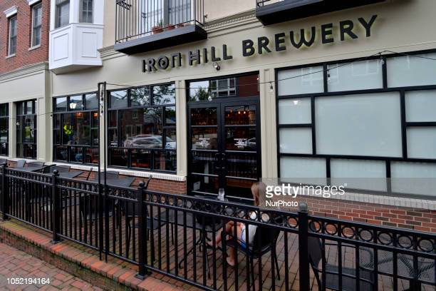 General view on the business corridor in Phoenixville PA on August 21 2018 To promote and secure it's recent economic uprising a community group...