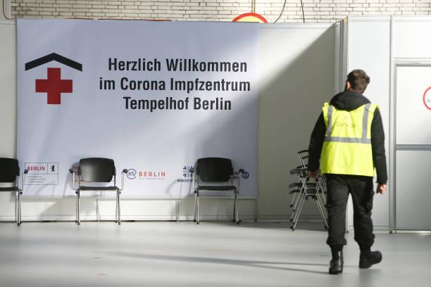 DEU: Berlin Opens Sixth Vaccine Center At Tempelhof Airport