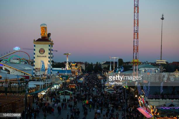 A general view on the Oktoberfest on Day 4 of the Oktoberfest The Oktoberfest or Wiesn in Bavarian is the world's largest Volksfest It will take...
