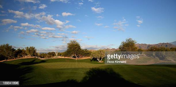 A general view on The Tallon Course at the Gray Hawk Golf Club Scottsdale on December 26 2012 in Scottsdale Arizona