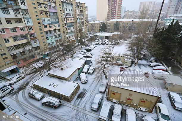 General view one of the yard in Baku