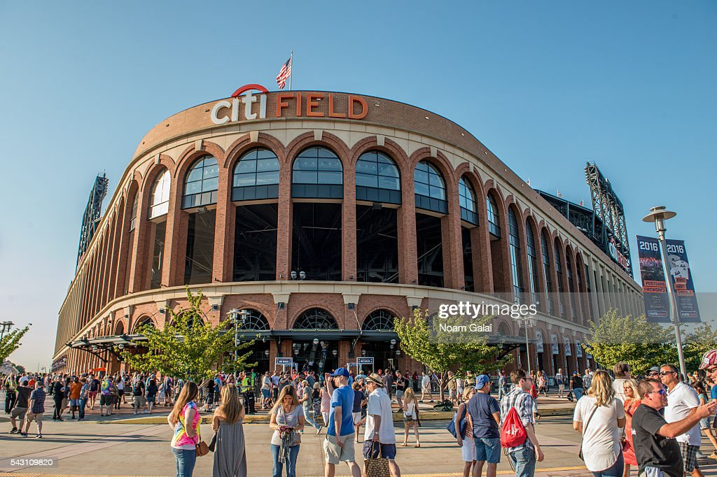 General view outside Citi Field on June 25, 2016 in the Queens borough of New York City.
