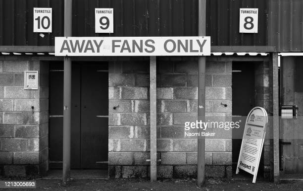 General view outside Eastleigh Football Club after it has been announced that all football league matches, including the Premier League and Women's...
