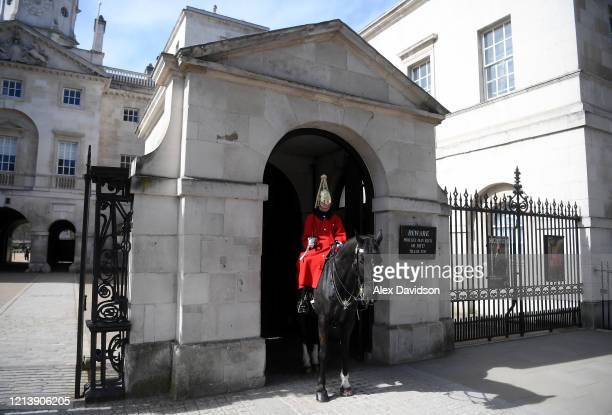 General view outside Horse Guards Parade on March 21, 2020 in London, England. Coronavirus has spread to at least 182 countries, claiming over 11,890...