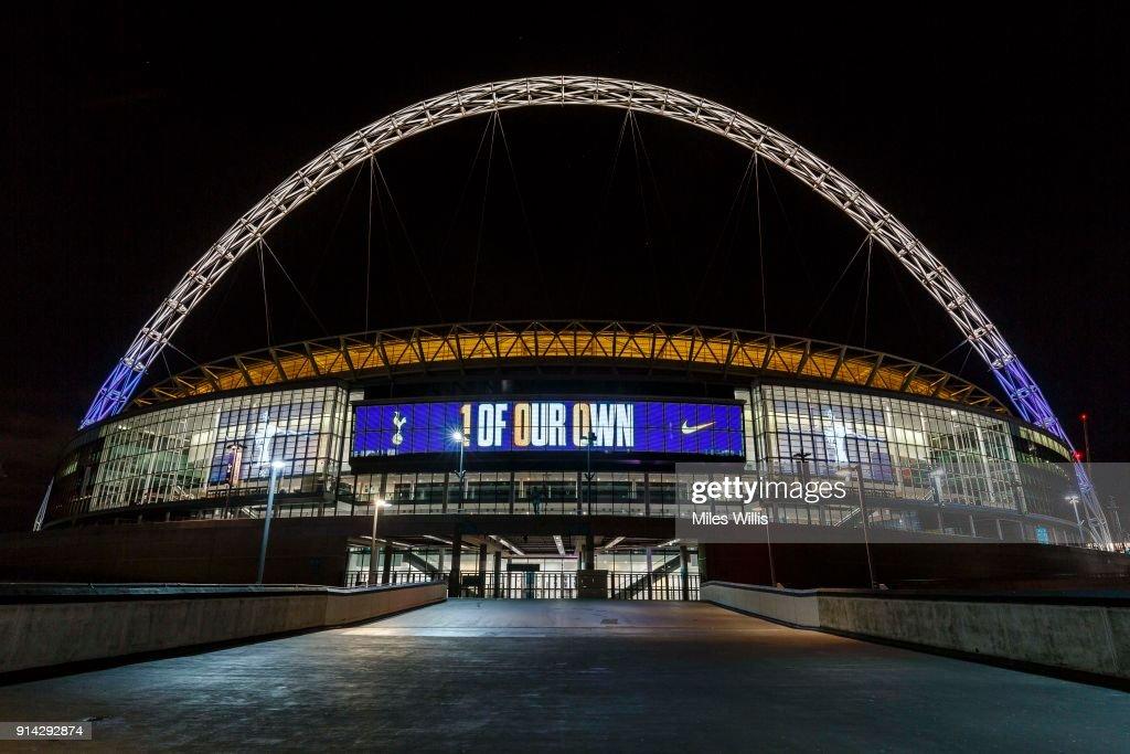 Harry Kane Scores 100th Premier League Goal For Tottenham Hotspur : News Photo